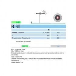 DISCO STRIPPING EXCESOS 952-900-140 KOMET